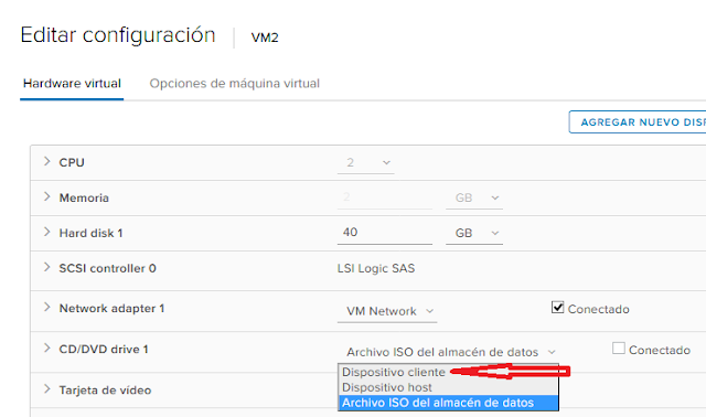 VMware: Desconectar CD DVD ISO con PowerCLI