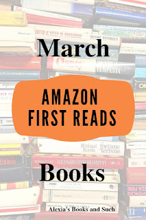 Amazon First Reads for March 2019