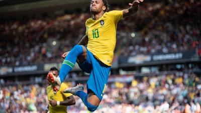 Brasil bate a Croácia por 2 a 0 em amistoso