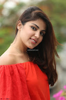 Rhea Chakraborty in Red Crop Top and Denim Shorts Spicy Pics ~  Exclusive 151.JPG