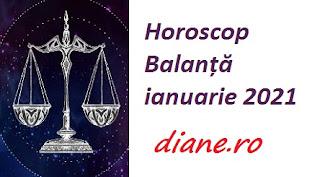 Horoscop Balanță ianuarie 2021