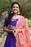 Actress Shraddha Srinath in Purple Chania Choli Cute Pics ~  Exclusive 63.jpg