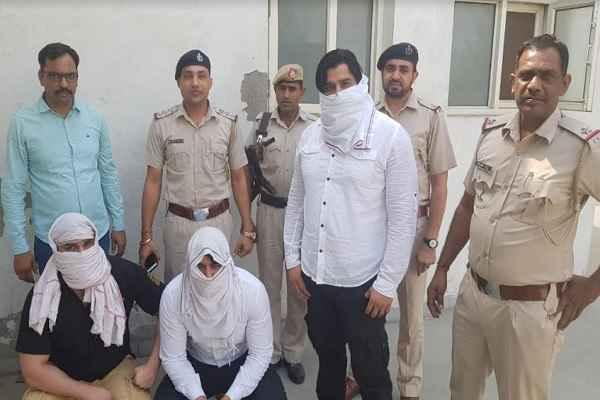 faridabad-city-ballabhgarh-thana-arrested-three-criminal-19-june-2019