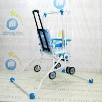 Baby Swing dan Chair Stroller Tajimaku BS203 Train 2 in One