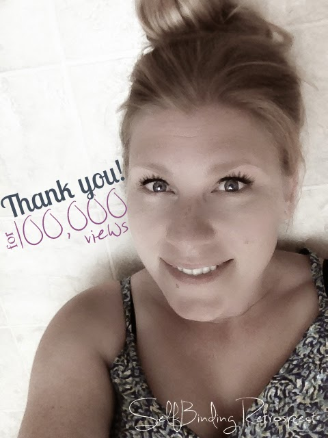 Cheers to 100,000 views! SelfBinding Retrospect by Alanna Rusnak