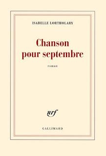 Couverture de Chanson pour septembre, Isabelle Lortholary