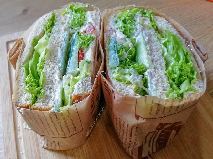 Cara Mudah Buat Wanpaku Sandwich