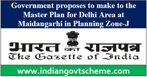 Maidangarhi in Planning Zone-J