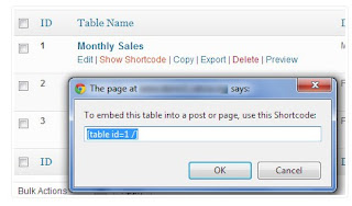 show-table-shortcode