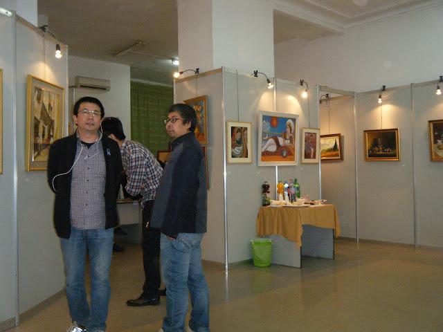 Exposition de peintures à La Galerie Aicha Haddad 10