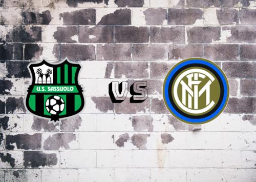 Sassuolo vs Inter de Milán  Resumen y Partido Completo