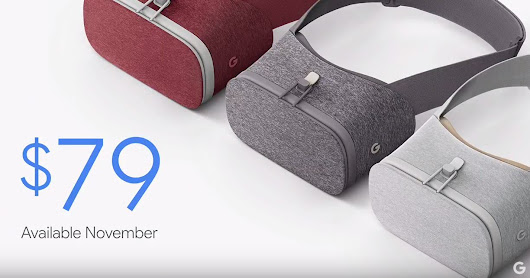 Google announces Daydream View the cloth covered headset for Daydream VR for $79
