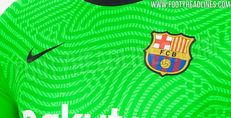 Barcelona 20 21 Goalkeeper Kit Leaked Footy Headlines