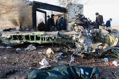 Ukren Plane crash