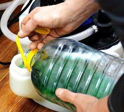 химическая промывка теплообменника