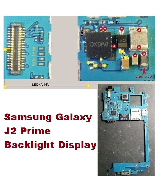 How To Fix Samsung Galaxy J2 Prime Backlight Display