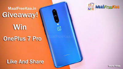 OnePlus 7 Pro Giveaway