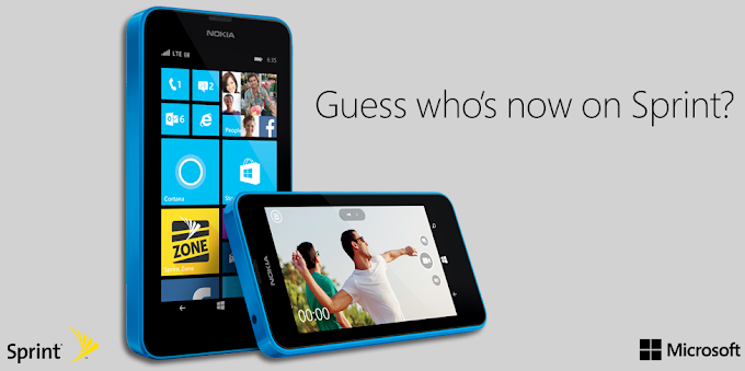 Nokia Lumia 635 for Sprint is now available and free on contract
