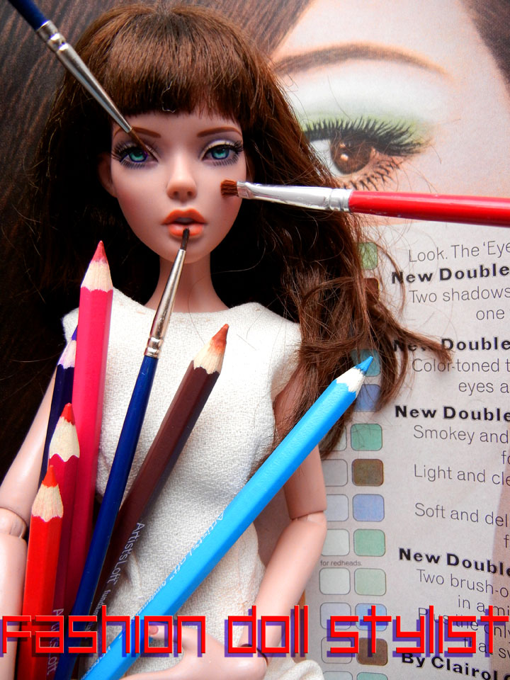 Fashion Doll Stylist Beauty Parlor