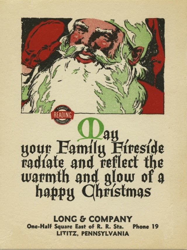 A Collection Of 17 Cute And Funny Vintage Christmas Cards