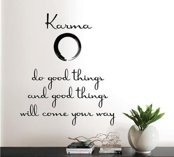 Good Karma Quote