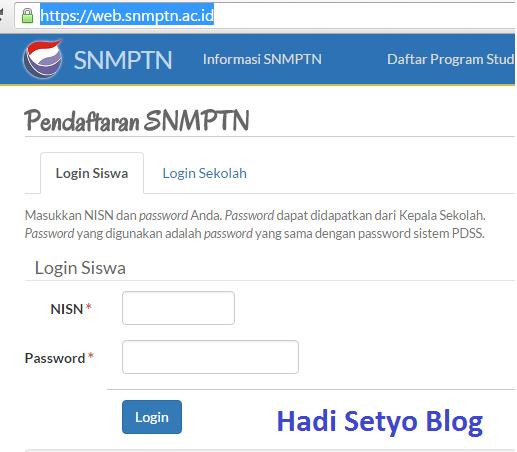 Jadwal Lengkap SNMPTN 2017 dan Syarat Pendaftarannya, Panduan Pendaftarab SNMPTN 2017 dan Syarat Pendaftarannya img