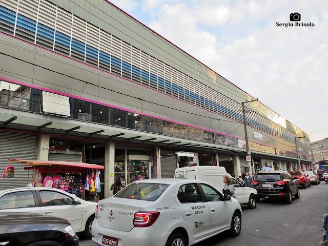 Vista ampla do Shopping 25 Brás - Brás - São Paulo