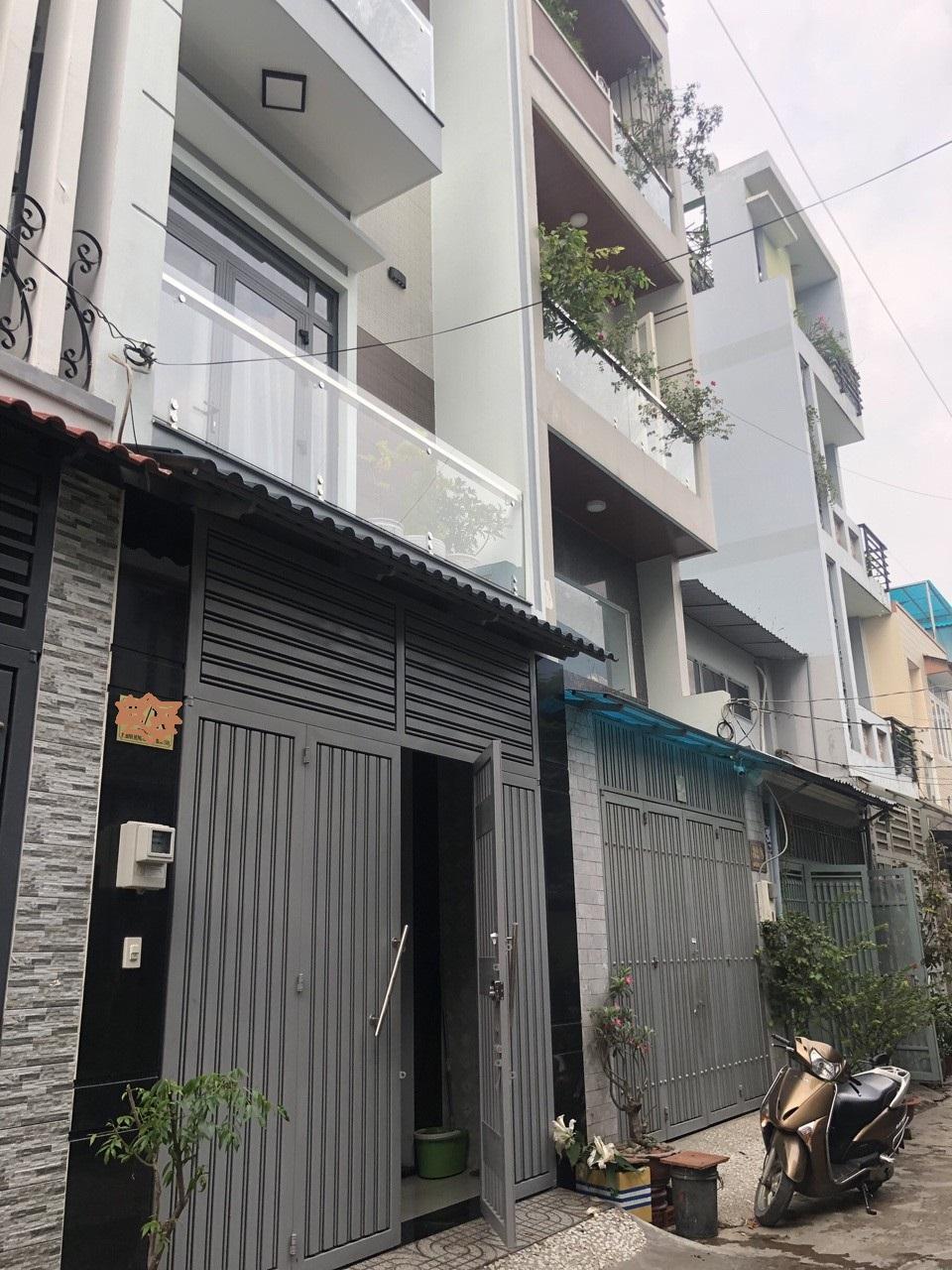 Bán nhà Hẻm xe hơi Đường số 5 phường Bình Hưng Hòa quận Bình Tân. DT 4x12m đúc 4 tấm