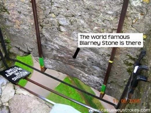 Blarney Stone from casualkeystrokes.com