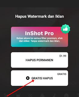 Cara Menghapus Watermark Pada Aplikasi Inshot