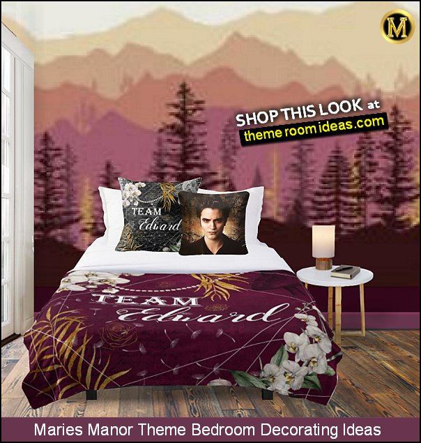 team edward bedroom ideas twilight bedroom decorating edward cullent bedroom decor