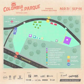 MAPA Festival COLOMBIA AL PARQUE 2019
