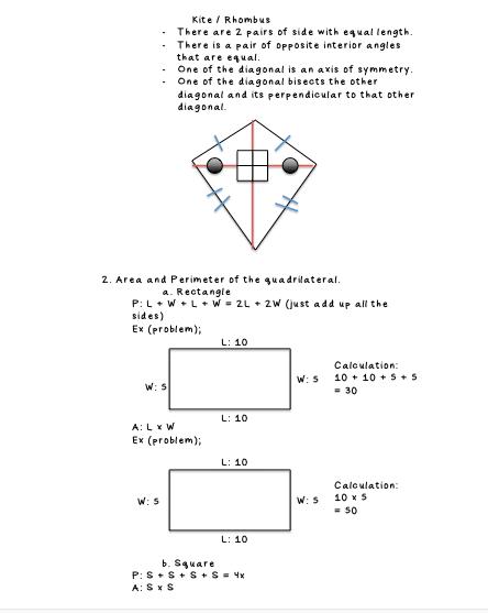 Math blog - Rachel Violetta : Grade 7 : UNIT 4 : FURTHER ...