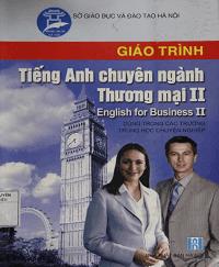 Giáo Trình Tiếng Anh Chuyên Ngành Thương Mại II - Trần Thị Phương Mai