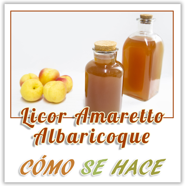 LICOR DE ALBARICOQUE, AMARETTO