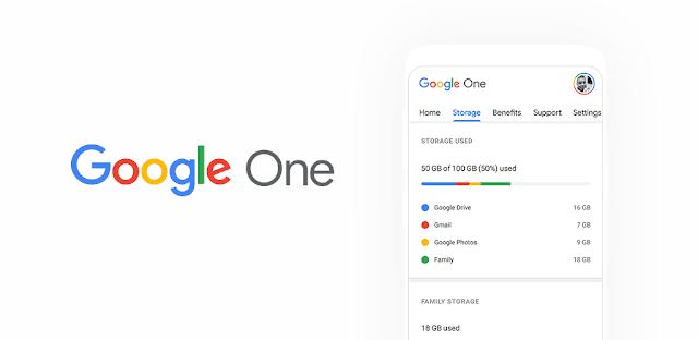 تنزي لتطبيق  Google One  - تطبيق للإدارة المتكاملة لجميع خدمات Google السحابية لنظام الاندرويد