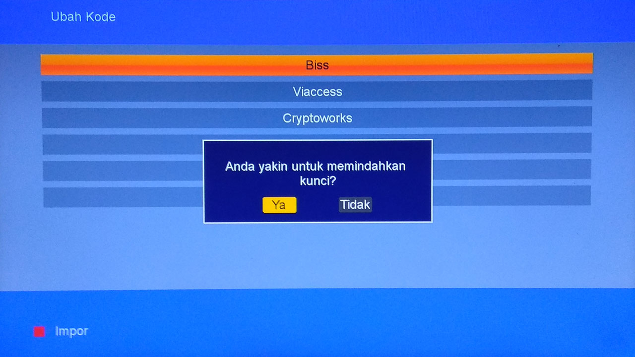 cara update softcam key  Matrix Burger S2 K5S AVS+
