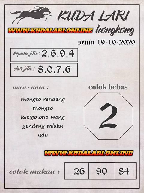 Kode syair Hongkong senin 19 oktober 2020 262