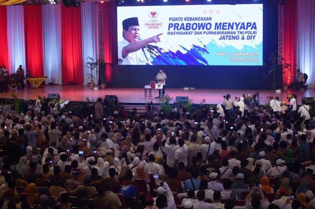 Prabowo Ingin Seluruh Rakyat Indonesia Bahagia
