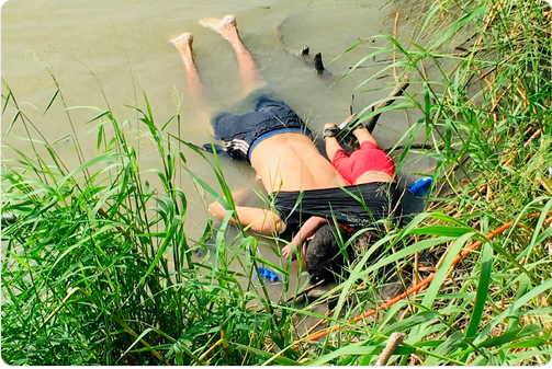 The photo of a drowned asylum seeker and his 23-month-old-daughter says everything about our so-called 'immigration debate.