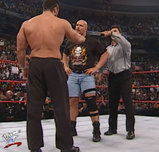 WWE / WWF Unforgiven 2000 - Shane McMahon got Steve Blackman in trouble with Steve Austin