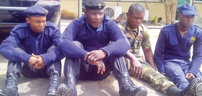 nigerian soldier arrested ilado lagos