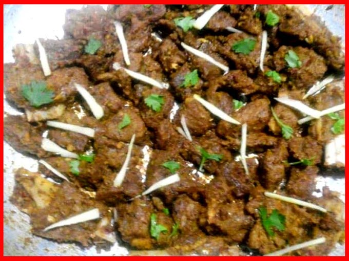 BBQ Beef Tikka In Karahi Recipe Video