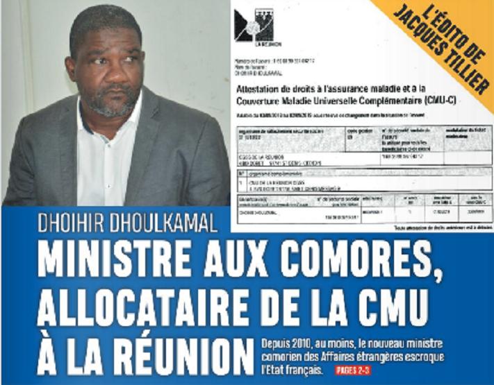 Le nouveau chef de la diplomatie comorienne «escroquait l'État français» pendant au moins 10 ans