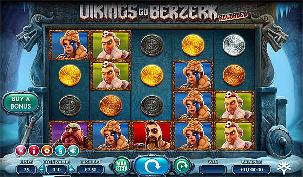 Main Gratis Slot Indonesia - Vikings Go Berzerk Reloaded Yggdrasil