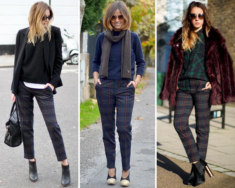 Zara Is The New Black Los Pantalones De Cuadros Que Se Llevan Este Otono