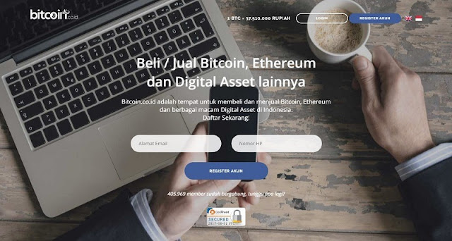 Indodax - Wallet Bitcoin