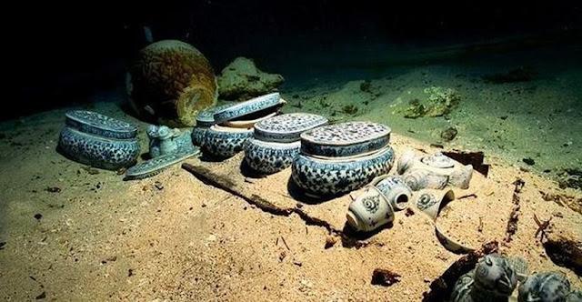 У затонулому Геракліоні виявлені незліченні скарби і підводний храм