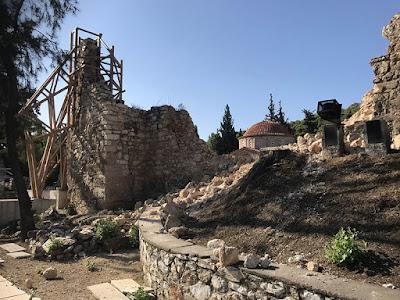 Ανακοίνωση για τις ζημιές στη Μονή Δαφνίου μετά τον σεισμό στην Αττική