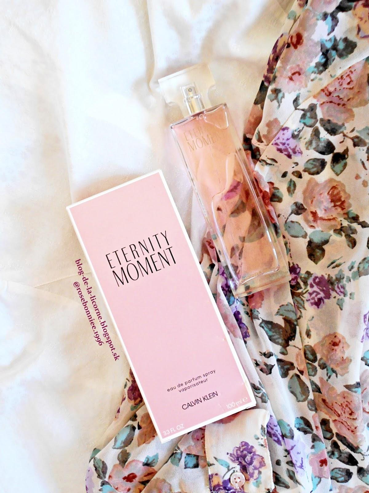 Calvin Klein Eternity Moment parfémovaná voda pre ženy recenzia